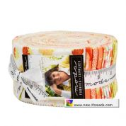 "Chantilly - Jelly Roll by Fig Tree  for Moda Fabrics - 40 x 2.5"" Fabric Strips"